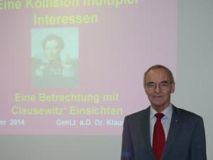 GenLt a.D. Dr. Klaus Olshausen