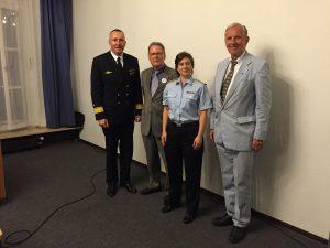 Carsten Stawitzki, Ullrich Tiedt, Dominique Gerber, Dr. Klaus Wittmann