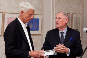 Christian Millotat dankt Werner Sonne