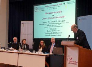 Walter Klitz, Dr. Sarah Kirchberger, Dr. Margarete Klein, Prof. Dr. Dirk Schmitt, Kurt Herrmann (von links)