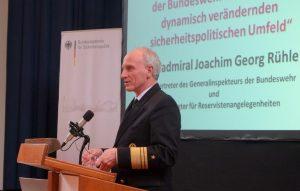 Vizeadmiral Joachim Georg Rühle, Stellvertreter des Generalinspekteurs