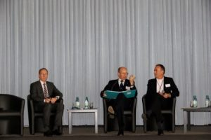 Panel 1 mit Markus Koths, Kurt Herrmann und Christoph Dorendorf