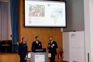 Panel 2 mit Oberstarzt Dr. Roman Wölfel, Joachim von Bonin und Michael Müller
