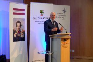 Dr. Andrew Blair Denison spricht über die US-amerikanischen Erwartungen an die europäischen Partner