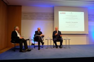 Paneldiskussion mit MdB Jürgen Hardt, Generalleutnant a.D. Kurt Herrmann und Dr. Andrew Blair Denison
